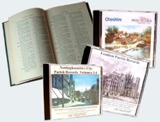 Parish Records available on CD-ROM