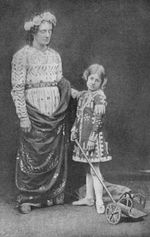 Charles Kean and Ellen Terry in 1856 as they appeared in The Winter's Tale